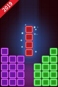 Glow Block Puzzle Games