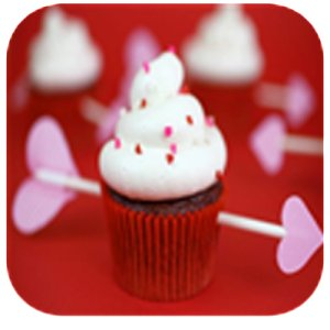 Valentines Day Recipes - Cupcake Cookies & Dessert