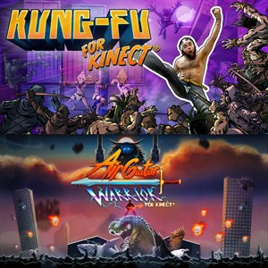 Kinectbundel: Kung-Fu & Air Guitar Warrior Xbox One