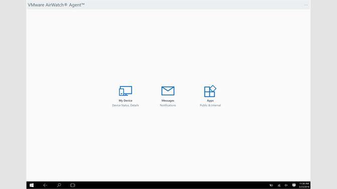 Get VMware AirWatch® Agent™ - Microsoft Store