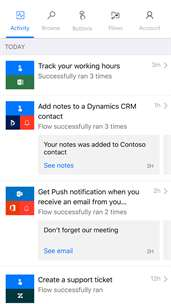 Microsoft Flow screenshot 4