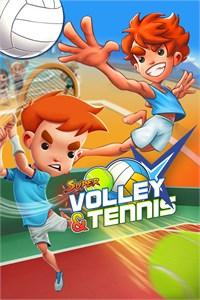 Carátula para el juego Volley & Tennis Bundle Blast de Xbox 360