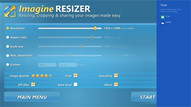Get Imagine RESIZER | Free - Microsoft Store