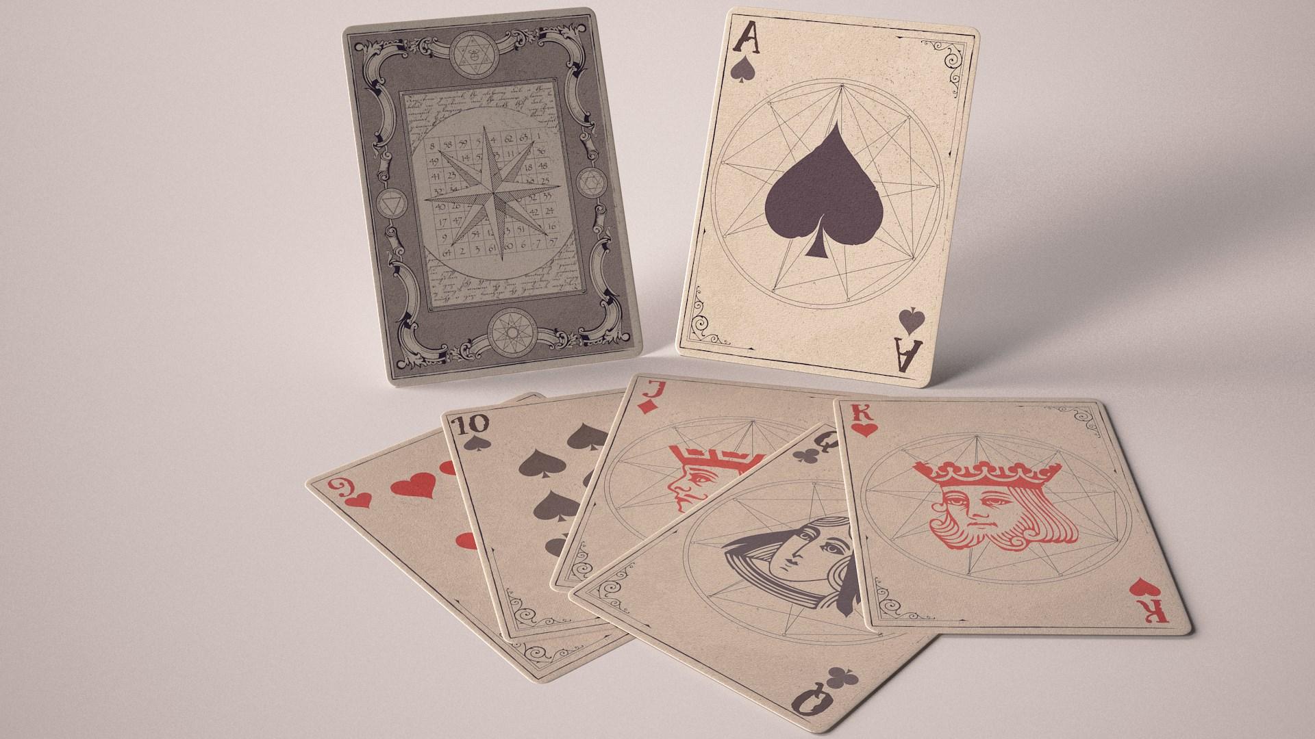 Чародей колода карт