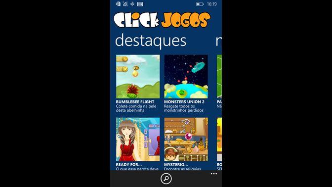 Jogos Online Grátis no Click Jogos