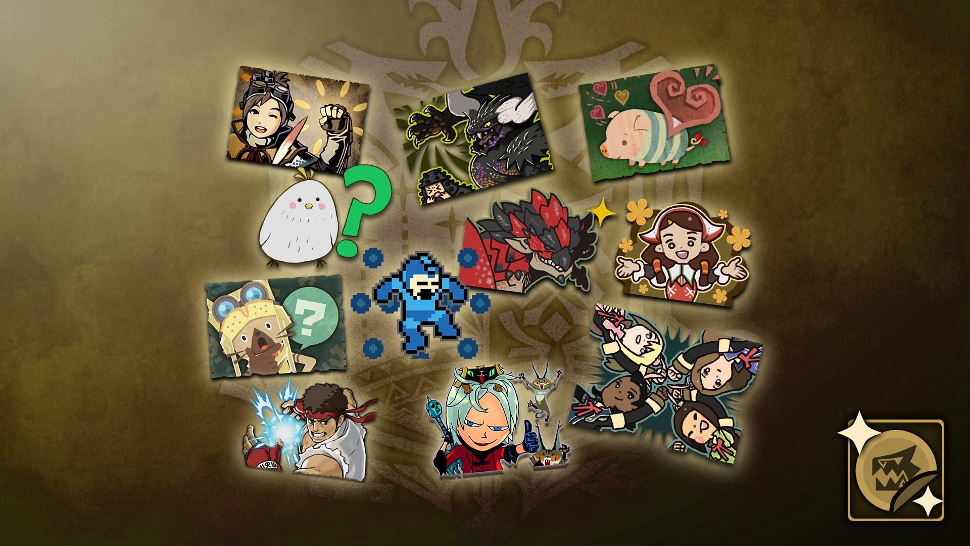 Monster Hunter: World - Complete Sticker Pack