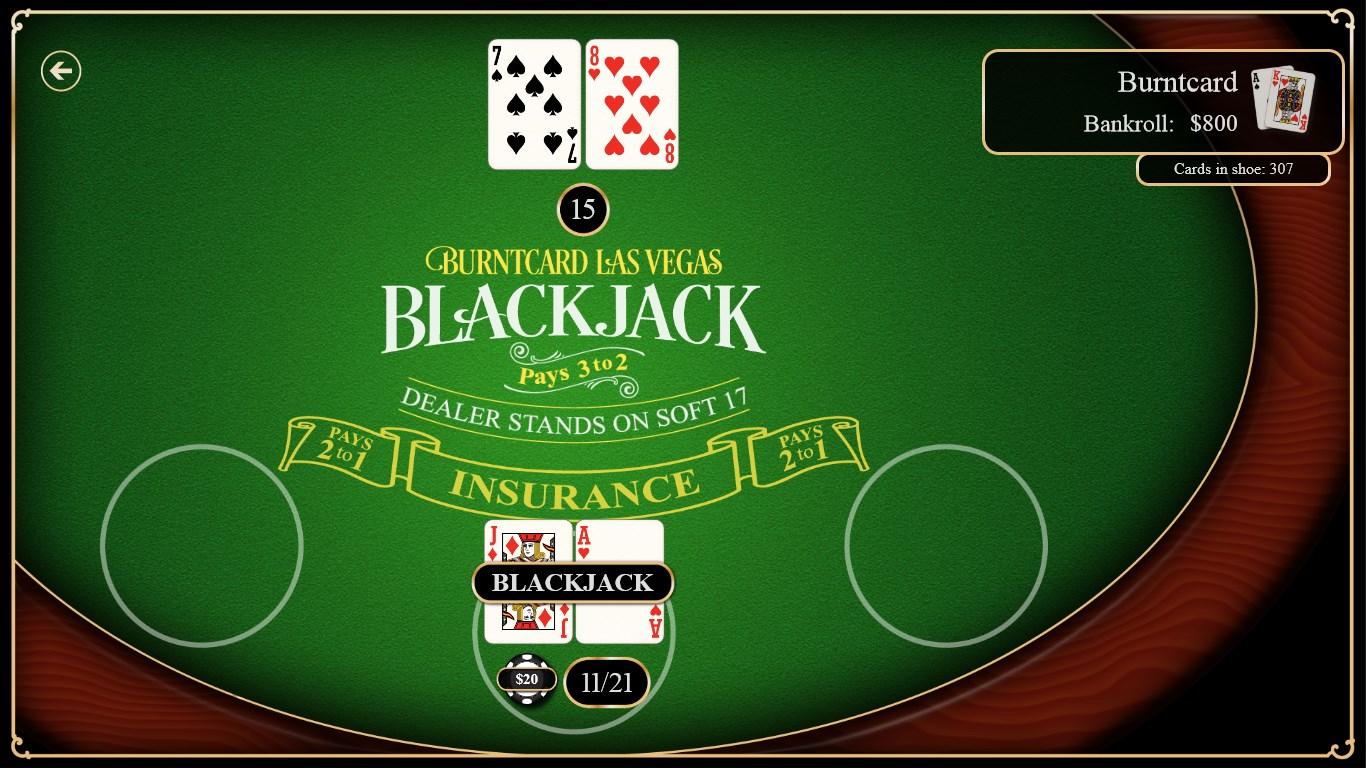 Burntcard Blackjack
