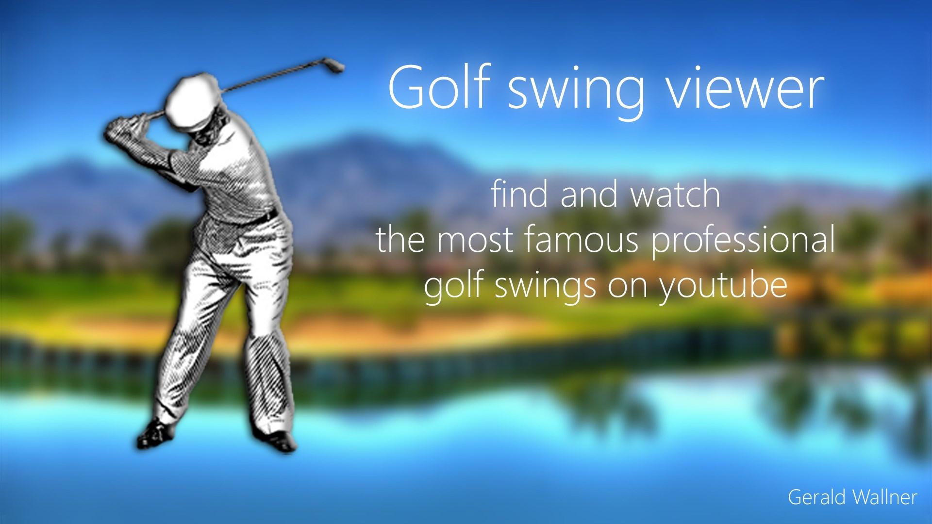 Get Golf Swing Viewer Microsoft Store