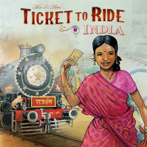 Ticket to Ride - India Xbox One