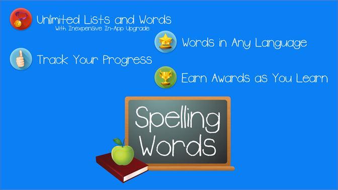Get Spelling Words Free - Microsoft Store