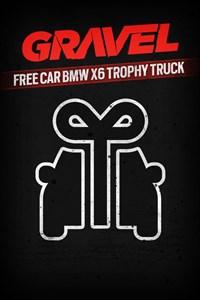 Carátula del juego Gravel Free car BMW X6 Trophy Truck