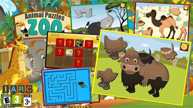 Obtener Los Ninos Formas De Rompecabezas Animales Zoo Juego