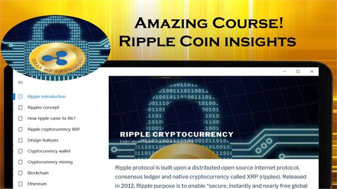 Baixar Ripple cryptocurrency XPR - Crypto altcoin course