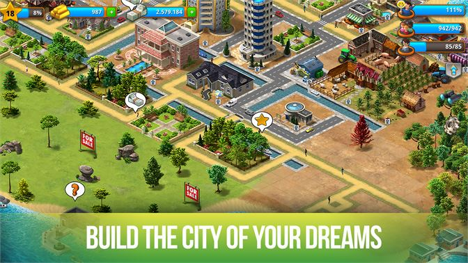 build your own city games hacked