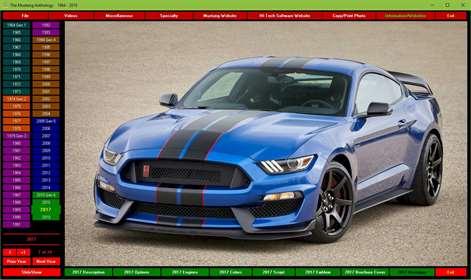 The Mustang Anthology 1964-2018Screenshots 1