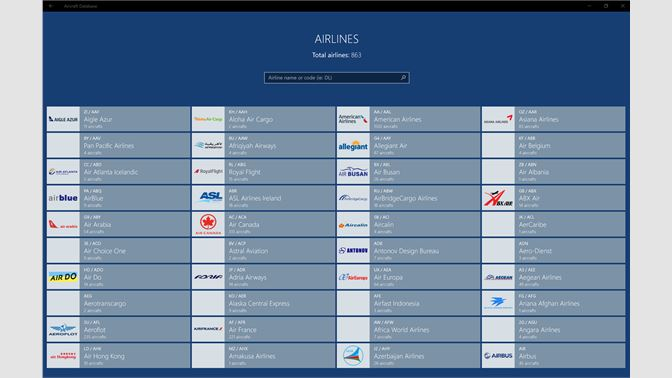 Get Aircraft Database - Microsoft Store