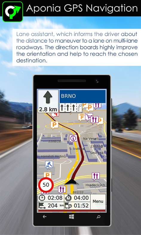Get GPS Navigation  Map by Aponia  Microsoft Store