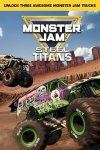 Monster Jam Steel Titans 3 Trucks instant access