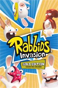 Carátula del juego RABBIDS INVASION - GOLD EDITION