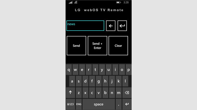 Get LG webOS TV Remote - Microsoft Store