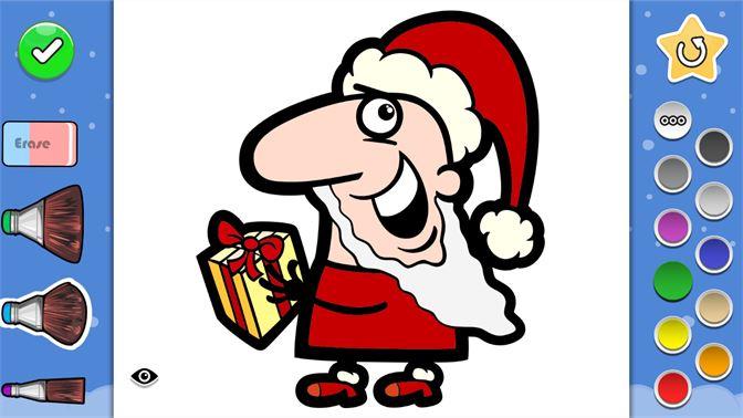 Boyama Kitabi Noel Baba Erkeler Kizlar Yetiskinler Ve
