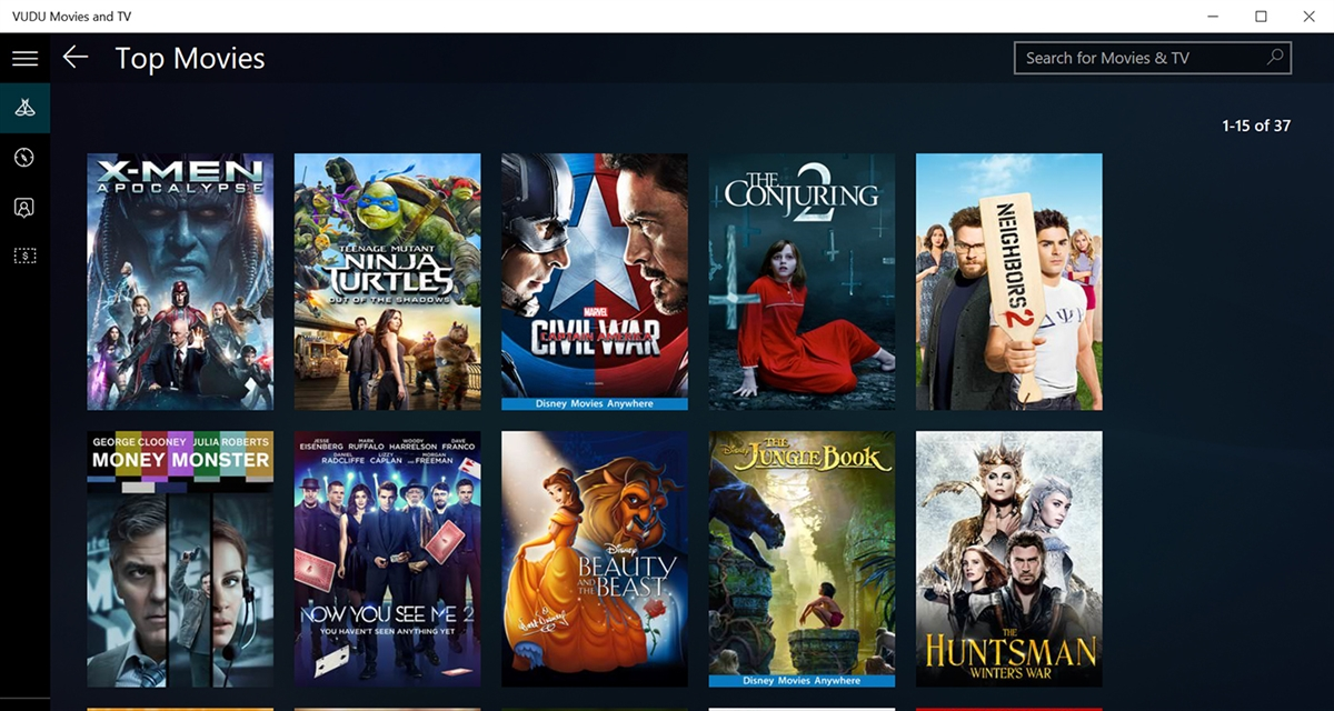 Vudu 3d movies / Ledgewood farm market