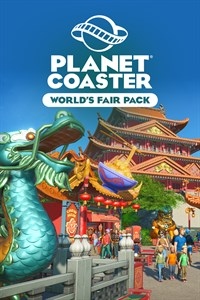 Planet Coaster: набор World's Fair Pack