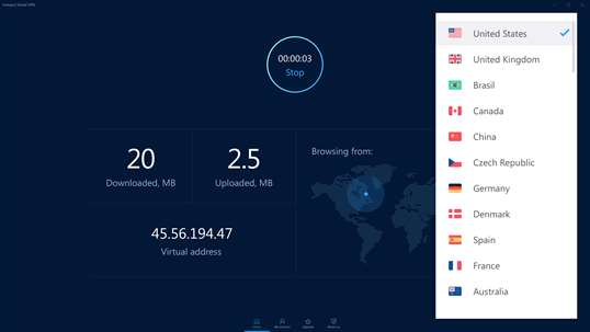 Hotspot Shield Free VPN screenshot 1