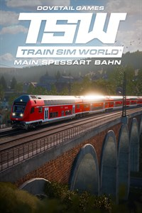 Carátula del juego Train Sim World: Main Spessart Bahn: Aschaffenburg - Gemünden Route Add-On