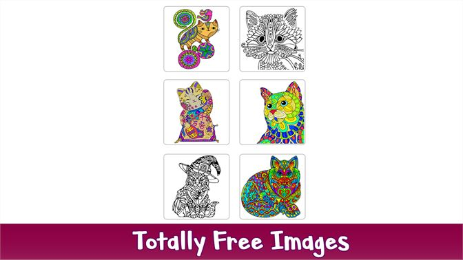 Cats Color by Number - Adult Coloring Book Pages beziehen ...