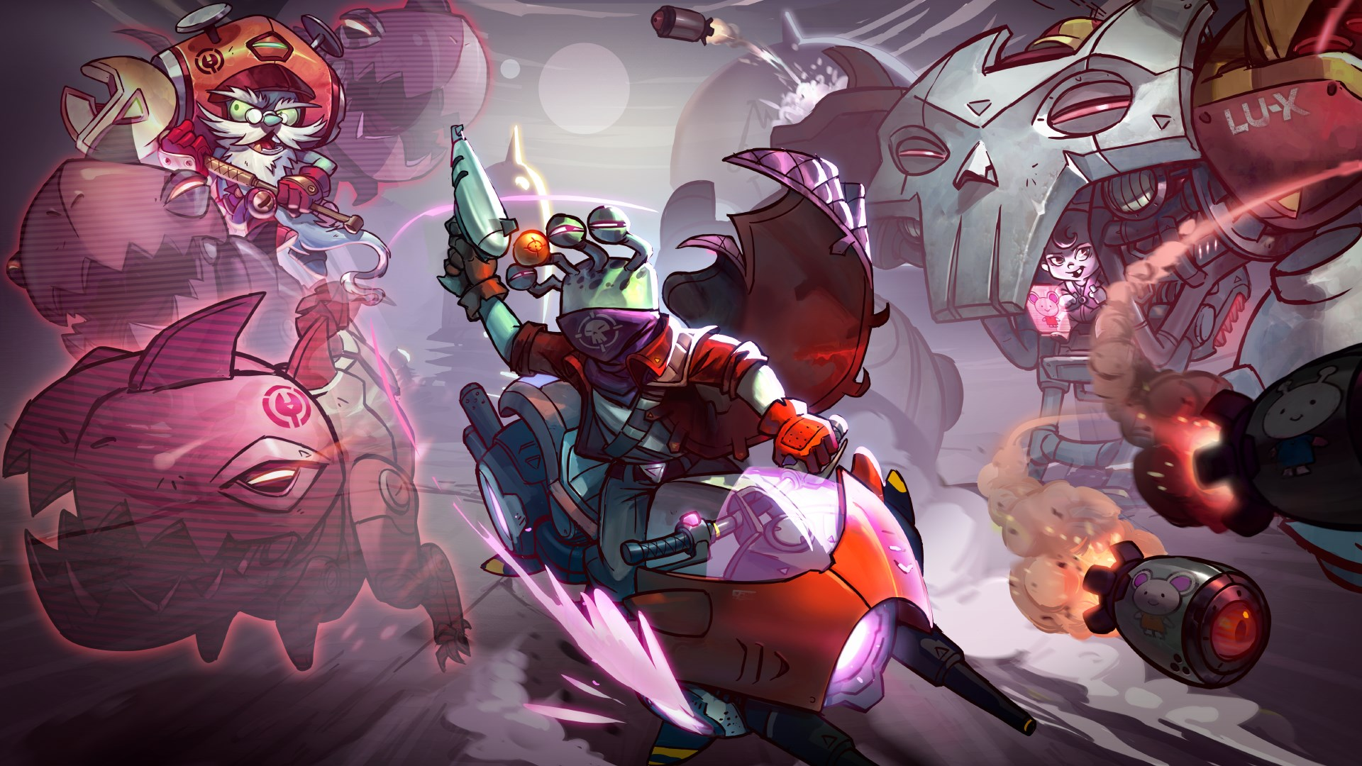 Overdrive Bundle - Awesomenauts Assemble! Character Pack