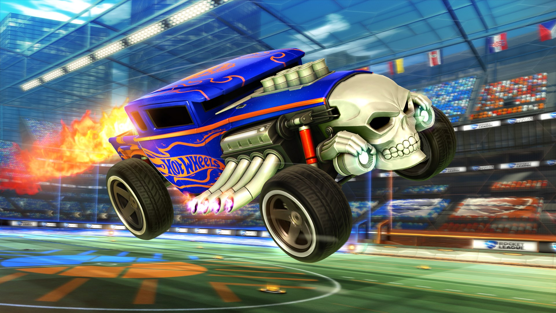 Rocket League® - Hot Wheels® Bone Shaker™