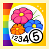 Flowers - Color by Numbers