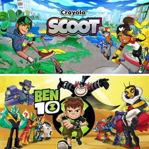 Ben 10 and Crayola Scoot Bundle Xbox One