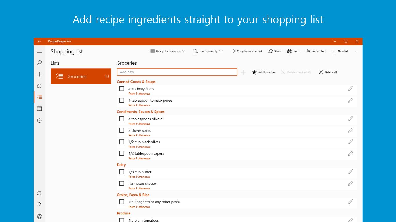 recipe card maker app
