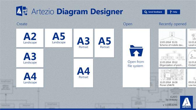 Comprar artezio diagram designer us microsoft store pt br captura de ecr designer for diagrams of any complexity captura de ecr choose any page size ccuart Image collections