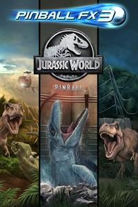 Carátula para el juego Pinball FX3 - Jurassic World Pinball de Xbox 360