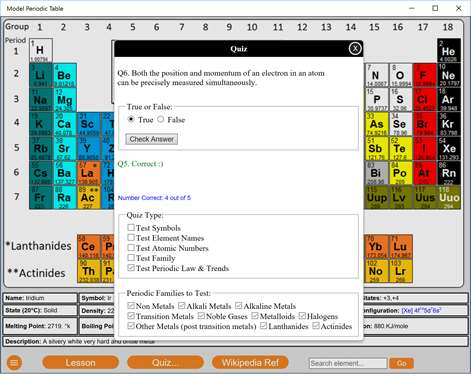 Get model periodic table microsoft store screenshot model periodic table quiz screen urtaz Gallery