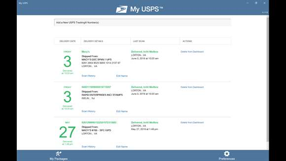 United States Postal Service release a UWP App for Windows 10 1