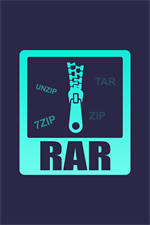 Get Unpack Gzip, 7zip & Tar Compress & Decompress - RAR