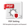PDF Settings - PDF Decryption, Encryption and Password