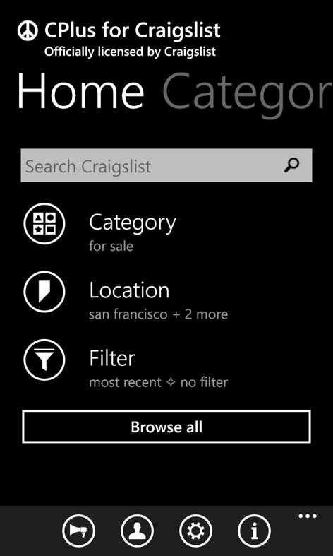 CPlus for Craigslist Screenshots 1