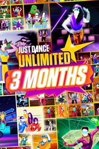 Just Dance Unlimited - 3 months pass