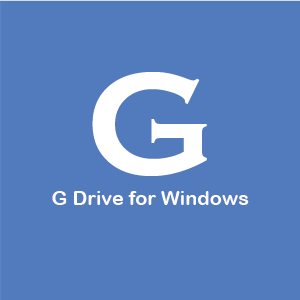 G Drive for Windows (Alpha)