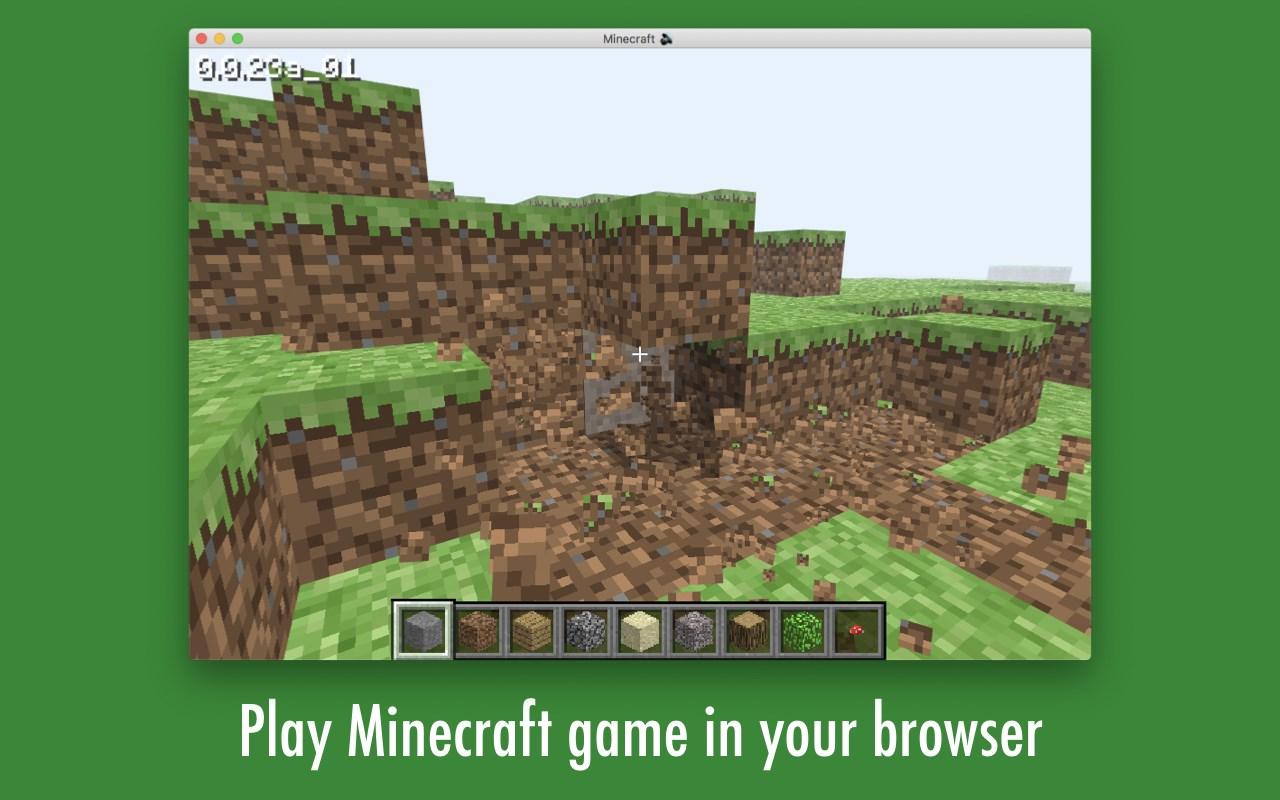 Minecraft Game Online - Microsoft Edge Addons