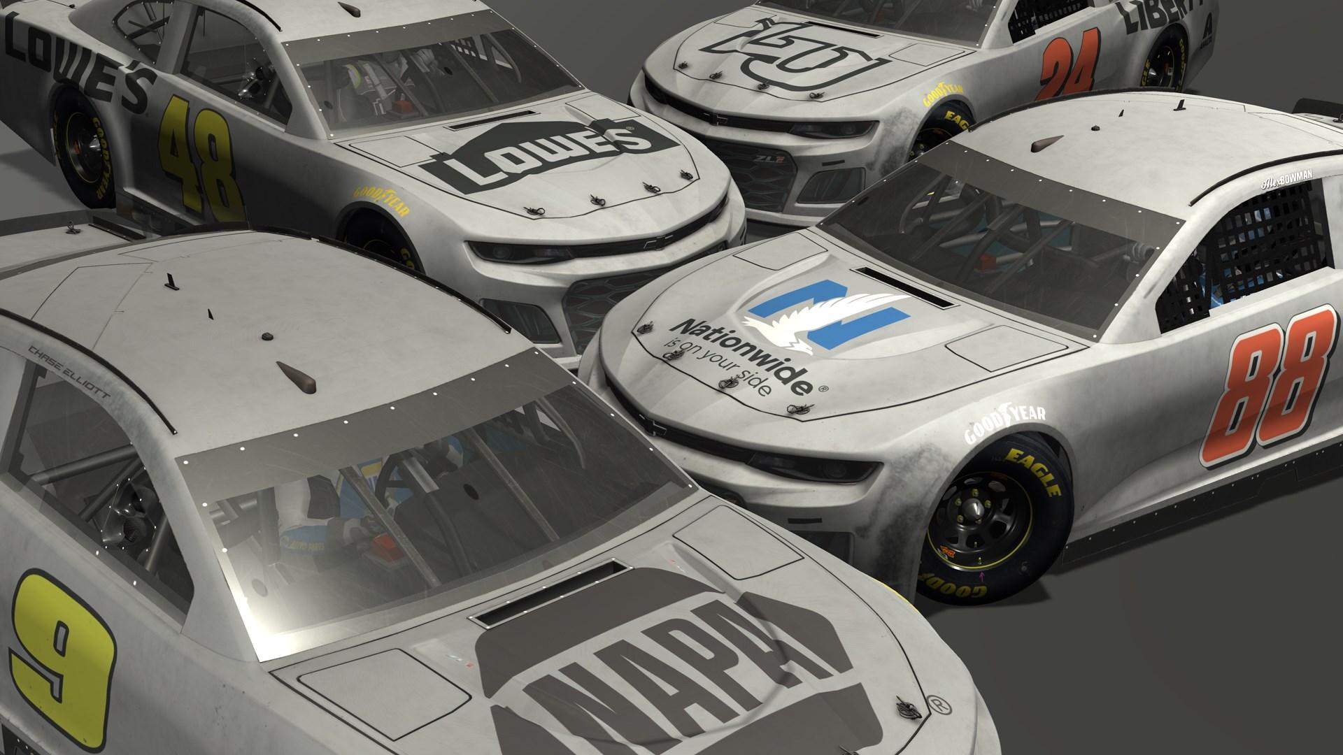 Hendrick Motorsports Test Scheme Pack
