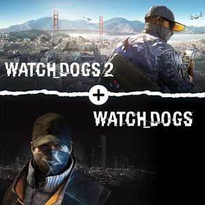 Watch Dogs 1 + Watch Dogs 2 Standard Editions Bundle Xbox One