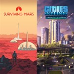 Cities: Skylines + Surviving Mars Logo