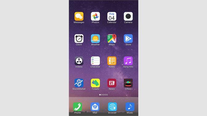 Get Iphone6 plus theme launcher - Microsoft Store