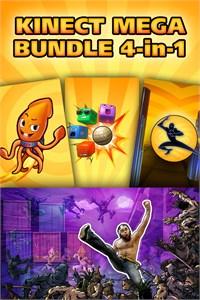 Carátula del juego Kinect Mega Bundle: 4 in 1